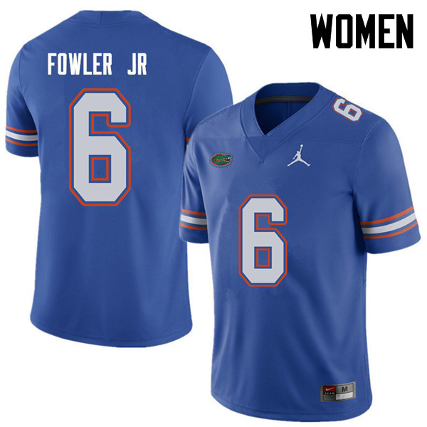 Jordan Brand Women #6 Dante Fowler Jr. Florida Gators College Football Jerseys Sale-Royal